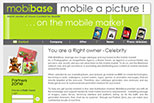 Ancien site internet corporate de Mobibase